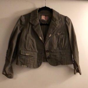 LaRok cropped blazer